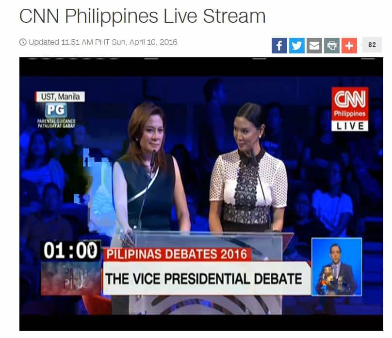VP Presidential Debate Transcription