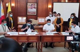 MOA Signing Between Department of Information and Communications Technology (DICT) and the Provincial Government of Pangasinan